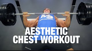 Old School Aesthetic  Chest Workout With Calum Von Moger
