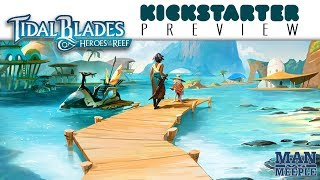 Tidal Blades Preview by Man vs Meeple (Druid City Games)