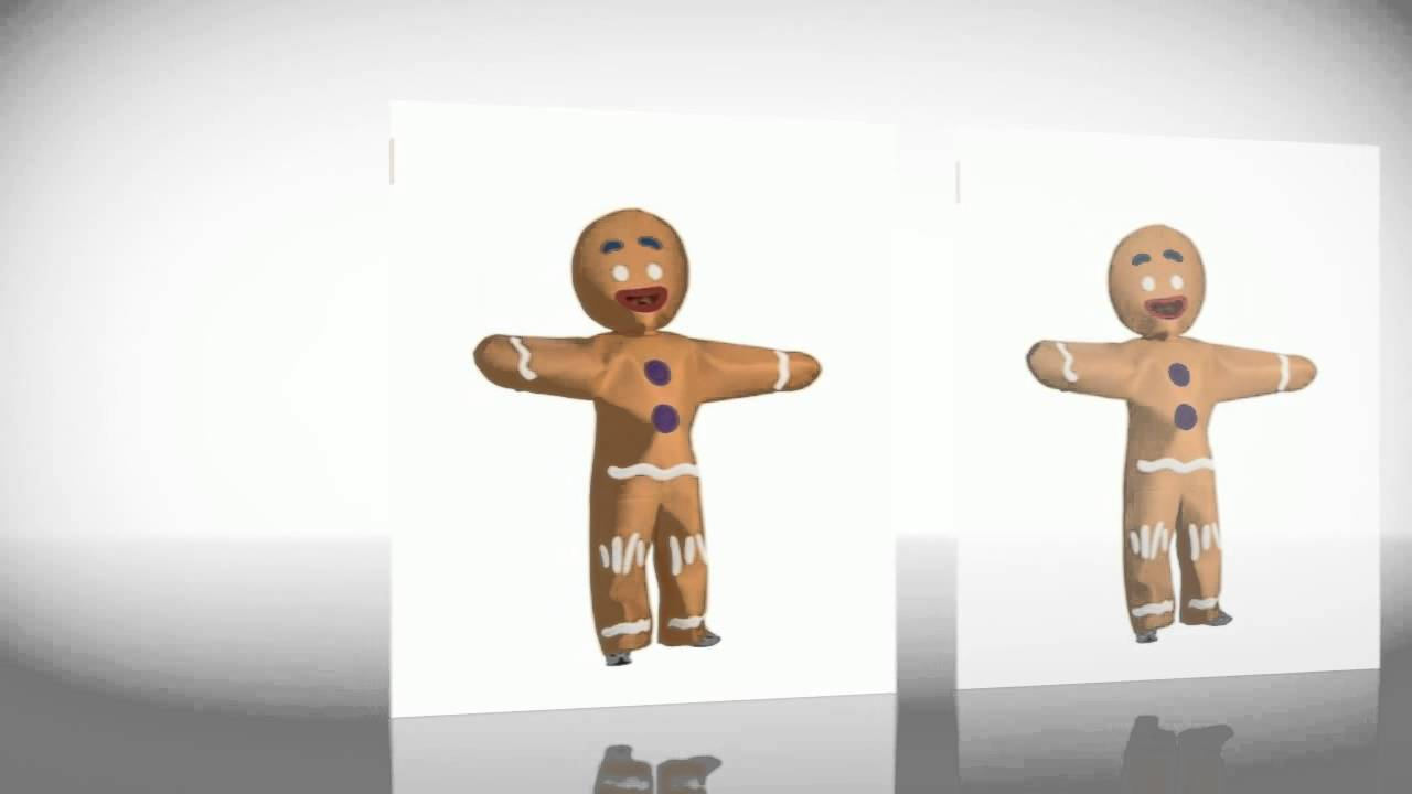 halloween costumes shrek gingerbread man costume youtube