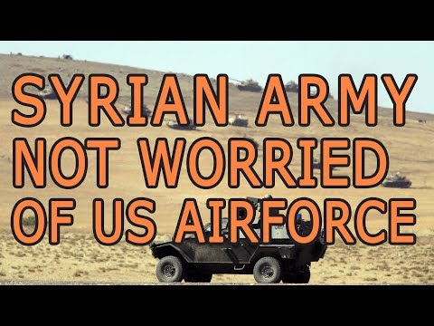 Syrian Army To Ignore US Air Force Warning