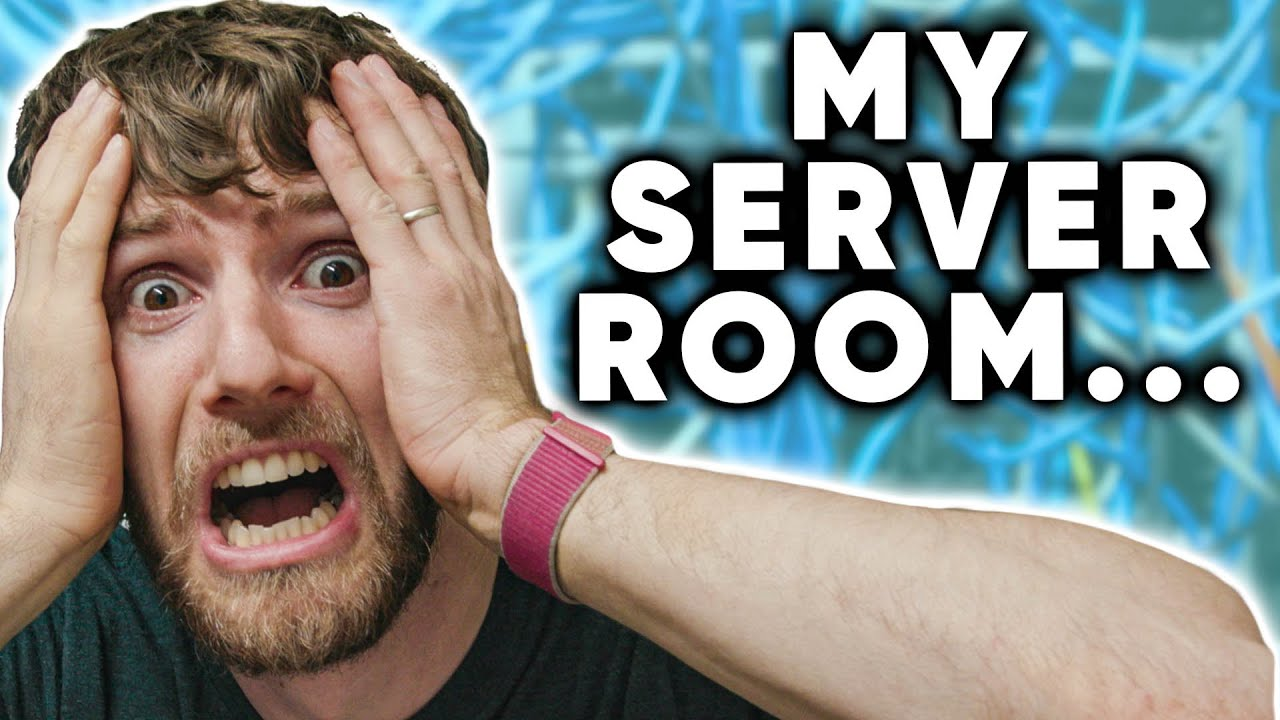 Download My Home Server Room is a MESS...
