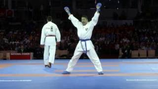 Kumite kings and queens in action at 2016 Karate World Championships
