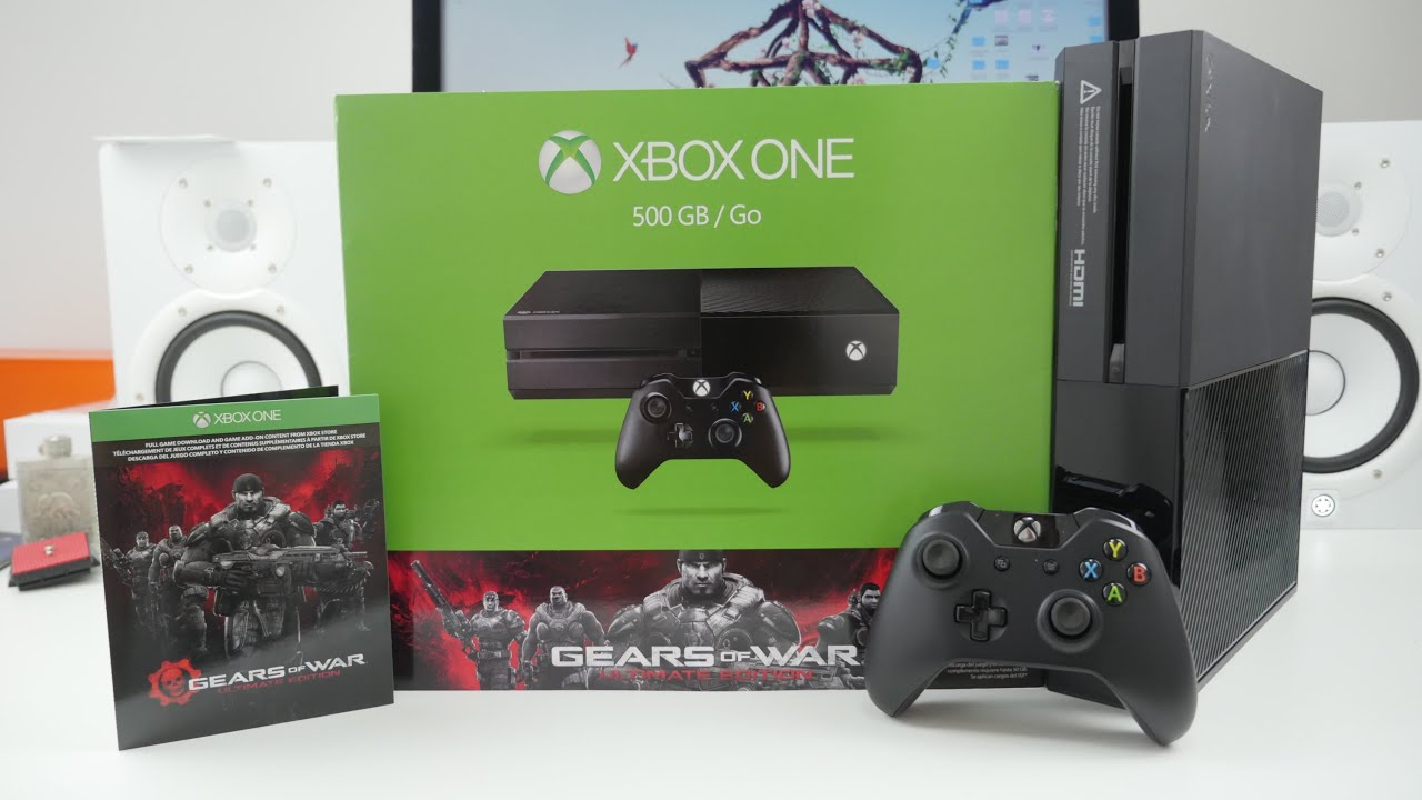 Xbox One Unboxing Gears of War Ul...
