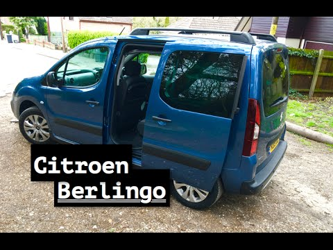 2016 citroen berlingo review inside lane youtube. Black Bedroom Furniture Sets. Home Design Ideas