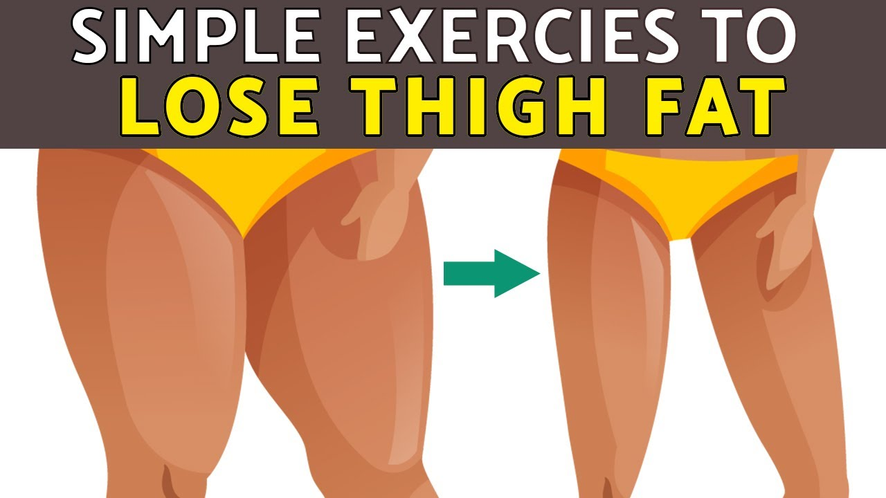 Download 5 Minutes Simple Exercises to Lose Thigh Fat Fast in 15 Days | HealthPedia