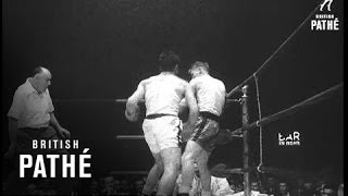 New York Beats London Boys Club Boxers (1954)