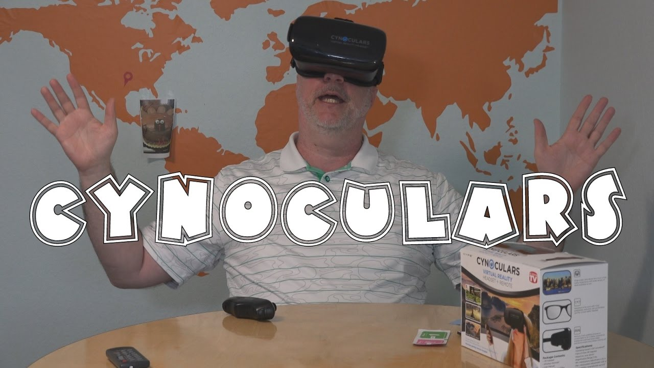 Cynoculars Review Vr Headset With Remote A Closer Look Cc Youtube