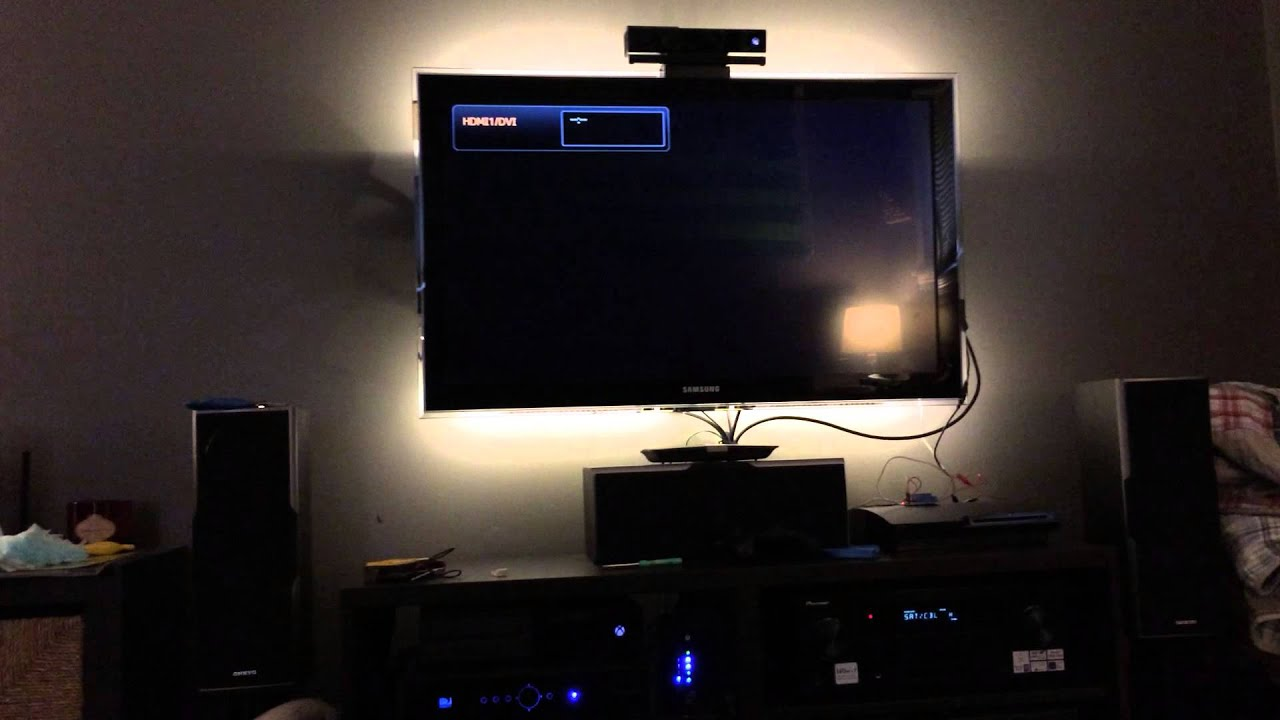 led lights switched by tv usb relay youtube. Black Bedroom Furniture Sets. Home Design Ideas