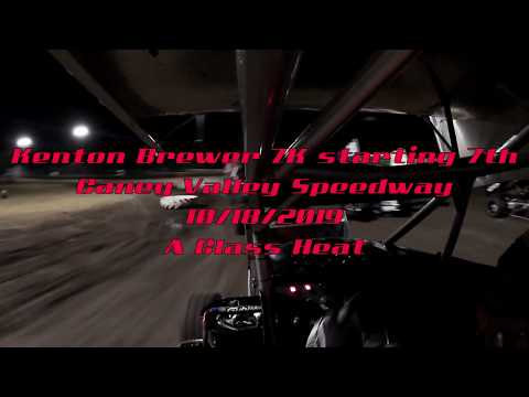 Follow along with my A class heat race from Caney Valley Speedway from 10/18/2019! This track was very different from anything I