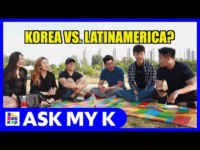 Ask My K : Leo Chun - 03 Korean Latinos and their culture shock in Korea!