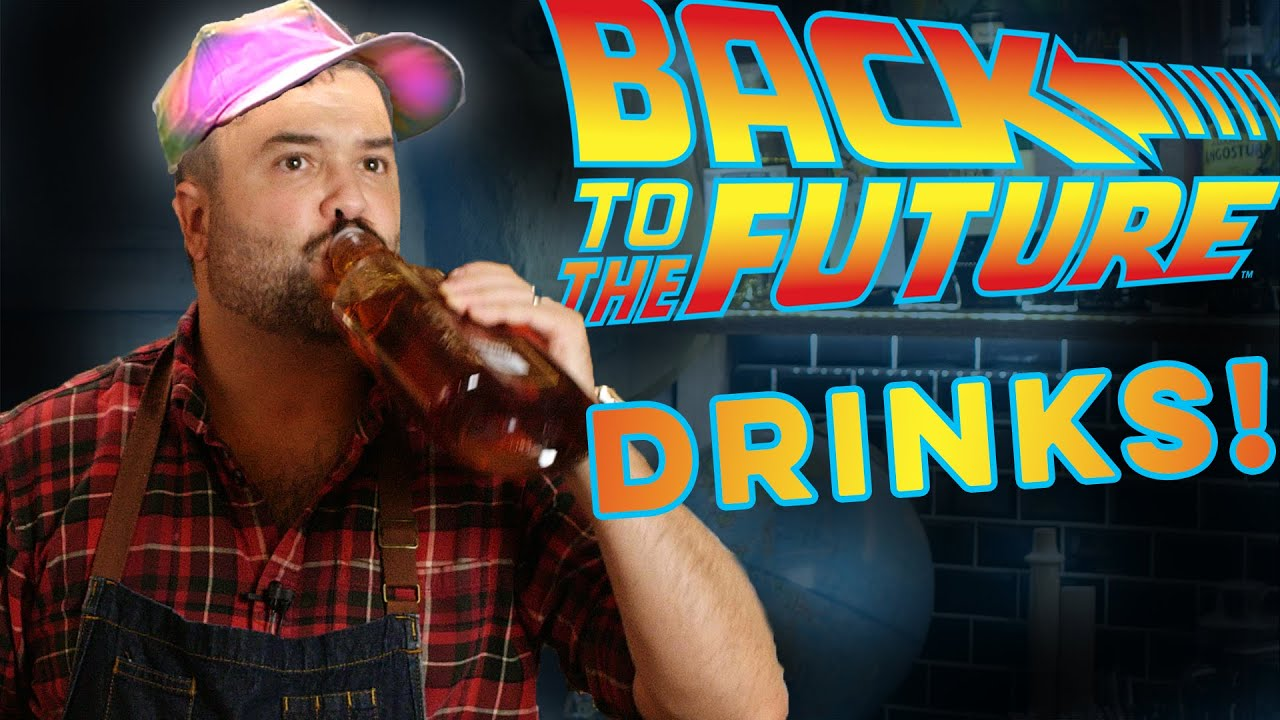 Back to the Future Drinks?    How to Drink