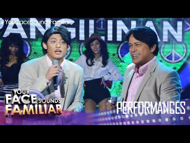 "Your Face Sounds Familiar: Michael Pangilinan as Marco Sison - ""Si Aida, o si Lorna o si Fe"""