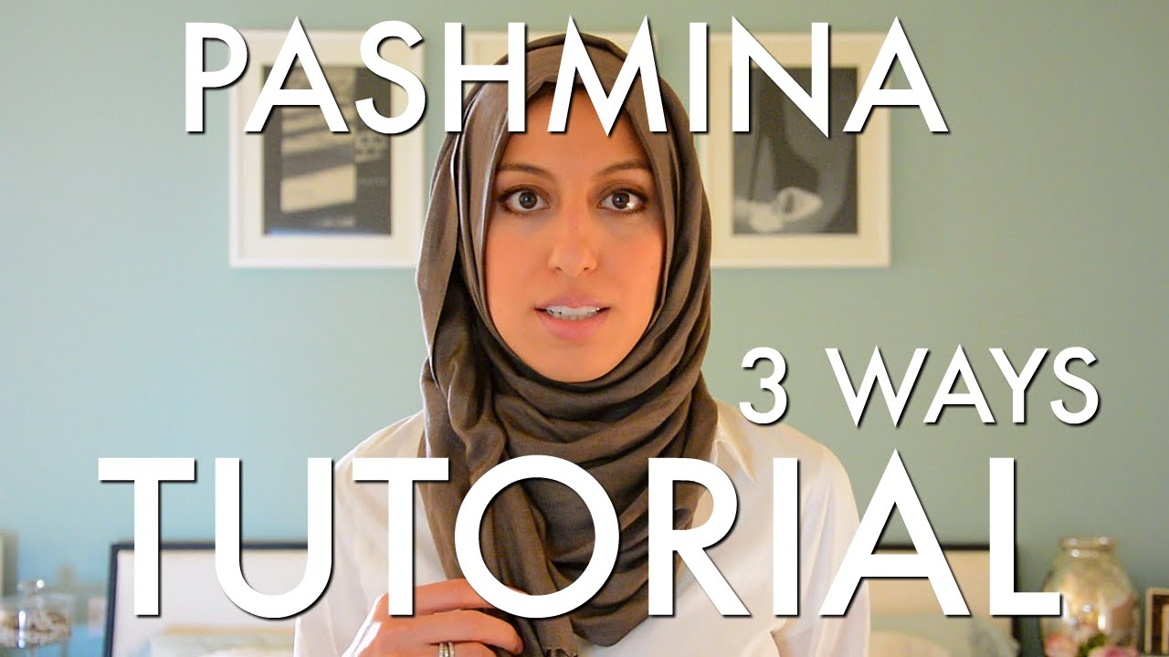 Beautiful Woven Wrap Pashmina Hijab Tutorial 3 Easy Ways Haute