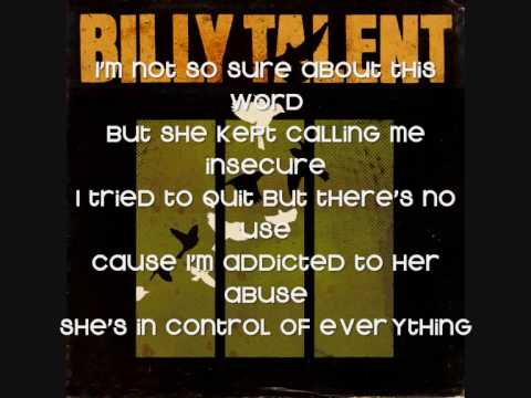 Billy Talent - Diamond on a Landmine with Lyrics