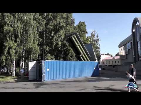 Russian Shipping Container with a NASTY SURPRISE for army air force navy