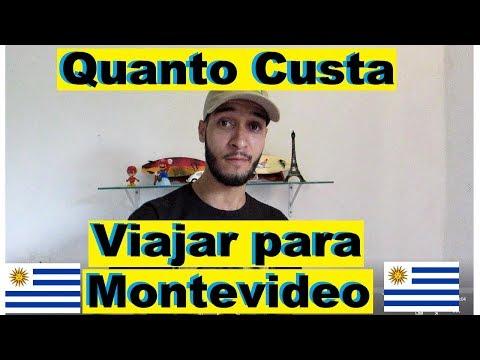 Quanto Custa viajar para Montevideo