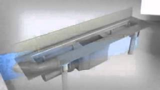Угловой душевой лоток HL50W - процесс монтажа www.hl-spb.ru(, 2014-10-20T13:47:40.000Z)