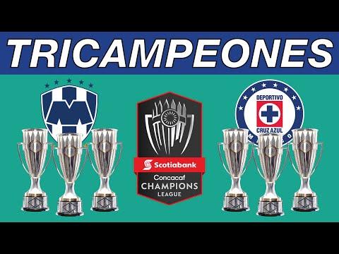 LOS TRICAMPEONES DE CONCACAF