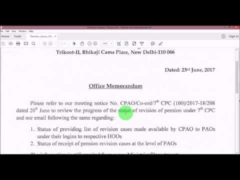 7th Pay Commission_New Pension Latest Status_जानिए नए पेंशन की लेटेस्ट स्टेटस