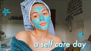 a self care day and chat // pamper routine :)