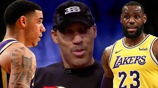 "LaVar Ball Says Lonzo Is Better Than LeBron, Tells Team ""You Will NEVER Win A Title If You Trade ZO"""