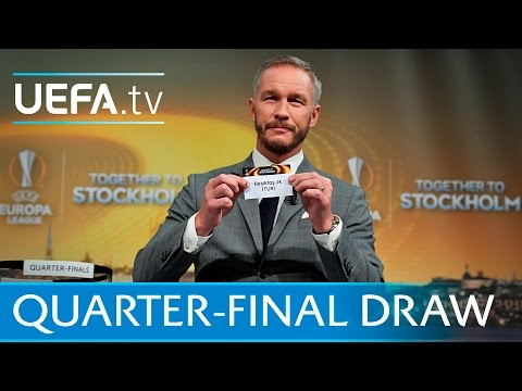 Watch the full UEFA Europa League draw