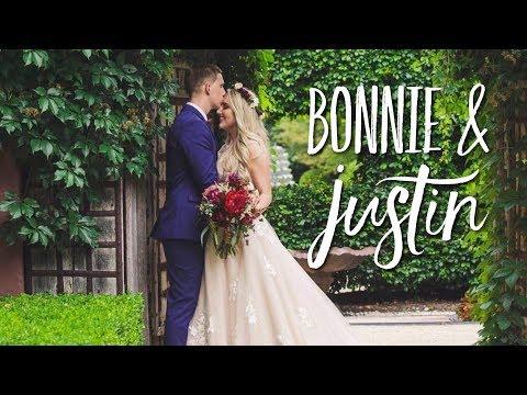 I GOT MARRIED!! Bonnie & Justin's Wedding Video   Finally Ewans