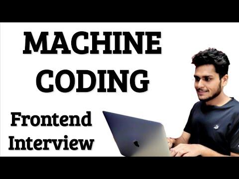 Machine Coding Round 🔥 Web Developer Interview