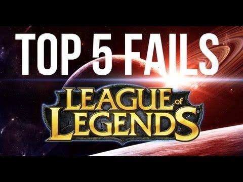 League of Legends Top 5 Fails  Ep.4