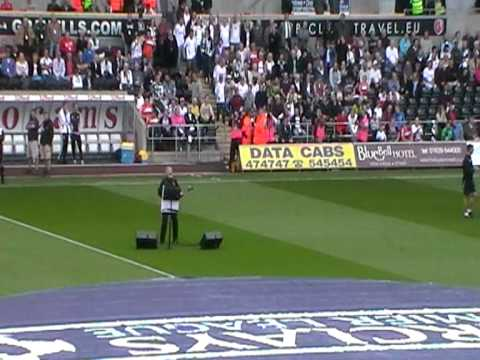Swansea City - Max Boyce, new lyrics for Hymns and Arias