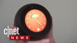 The Amazon Echo Spot might be the smartest alarm clock ever