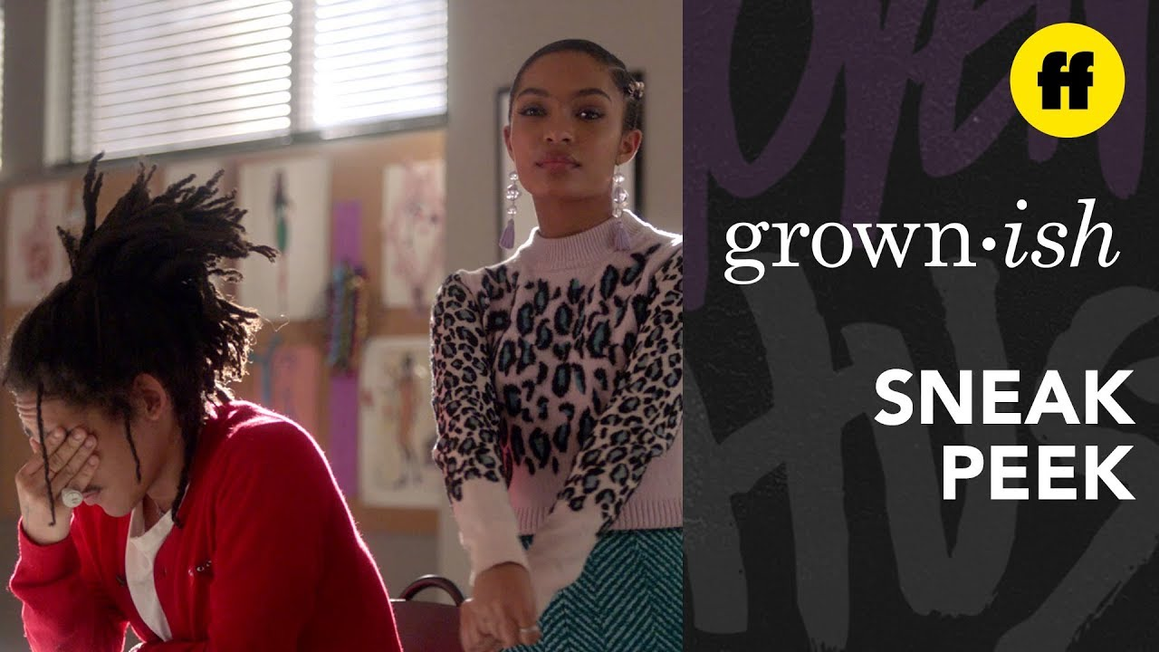 Download grown-ish Season 2, Episode 6   Sneak Peek: Luca Argues With Zoey About His Designs   Freeform