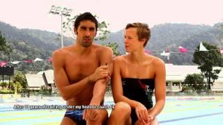 Thanyapura Video: Italian Swimming Sensations Filippo Magnini & Federica Pellegrini Vol.1
