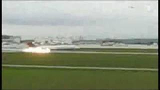 Notlandung am Flughafen Stuttgart || Nachrichten-Bericht ||