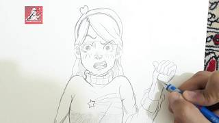 Mabel Pines | Gravity Falls Manga style