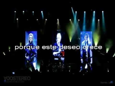 "Soda Stereo ""Disco eterno"" karaoke de verdad"