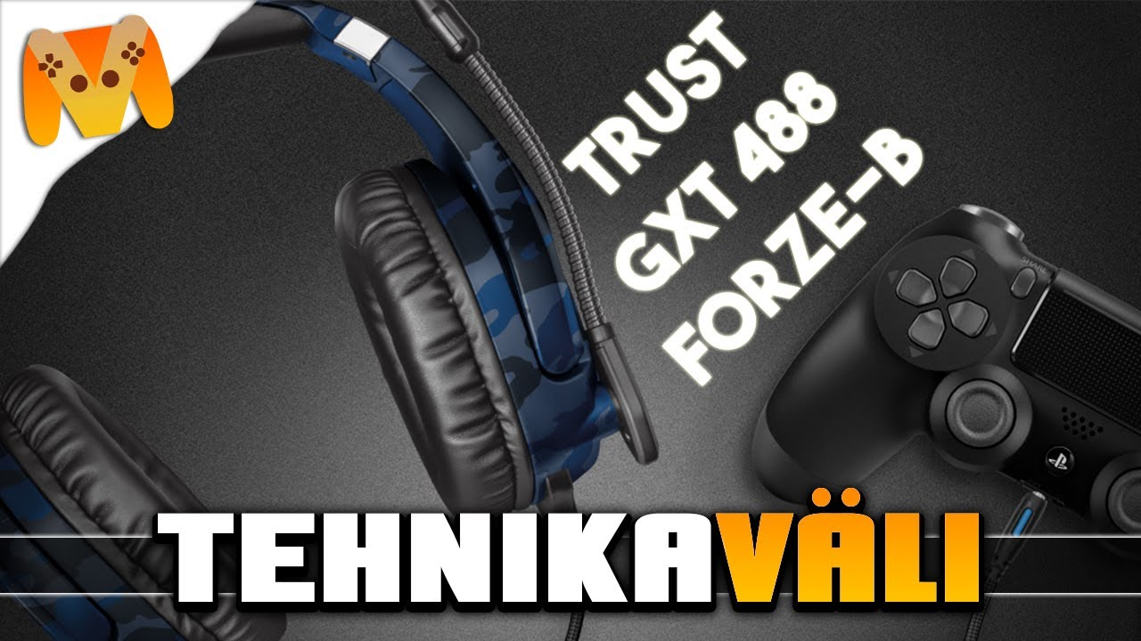Tehnikaväli - Trust GXT 488 Forze-B PS4 Gaming Headset