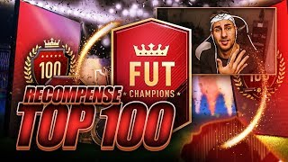 2 PACKS RECOMPENSES TOP 100 FUT CHAMPIONS !!! FIFA 18 PACK OPENING