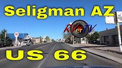 Seligman Arizona US Route 66 - Burma Shave Signs