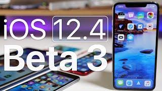 iOS 12.4 Beta 3 - What's New?