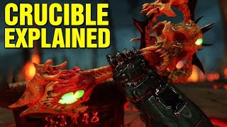 DOOM: ORIGINS - WHAT IS THE CRUCIBLE? STORY EXPLAINED