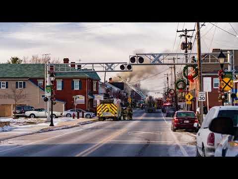 Taneytown House Fire 2nd Alarm 44 E Baltimore Street