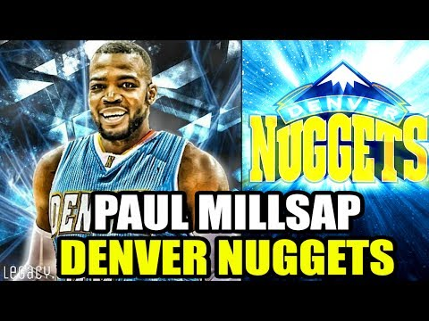 PAUL MILLSAP SIGNS WITH DENVER NUGGETS! NEW ALL STAR TEAMMATE FOR NIKOLA JOKIC! NBA SEASON SIMULATOR