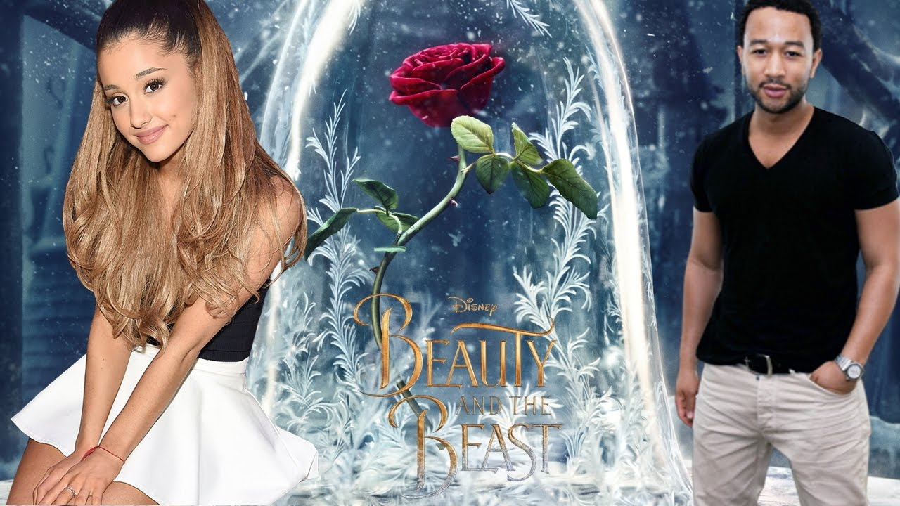 「beauty and the beast ariana grande」的圖片搜尋結果