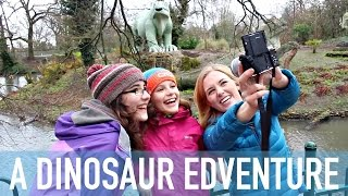 THE WORLDS OLDEST DINOSAUR THEME PARK?! | The Crystal Palace Dinosaurs