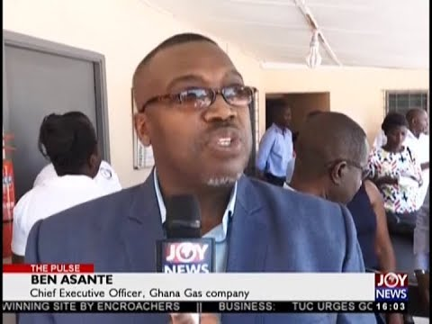 Ghana Gas Company's donation - The Pulse on JoyNews (18-10-18)