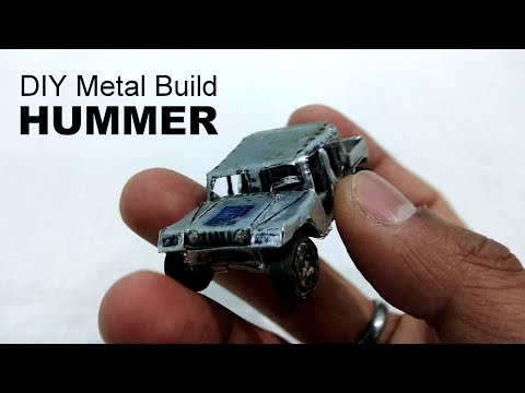 Hummer HumVee DIY Hummer | Metal Build DIY hummer
