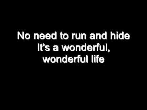 Black - Wonderful Life + Lyrics - YouTube