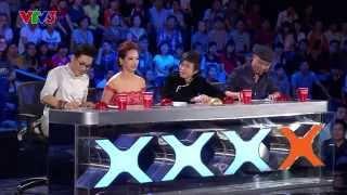 Vietnam's Got Talent 2014 - TẬP 08 - TIẾT MỤC NÚT VÀNG HUY TUẤN - Sài Gòn cà phê sữa đá - Huỳnh Mai