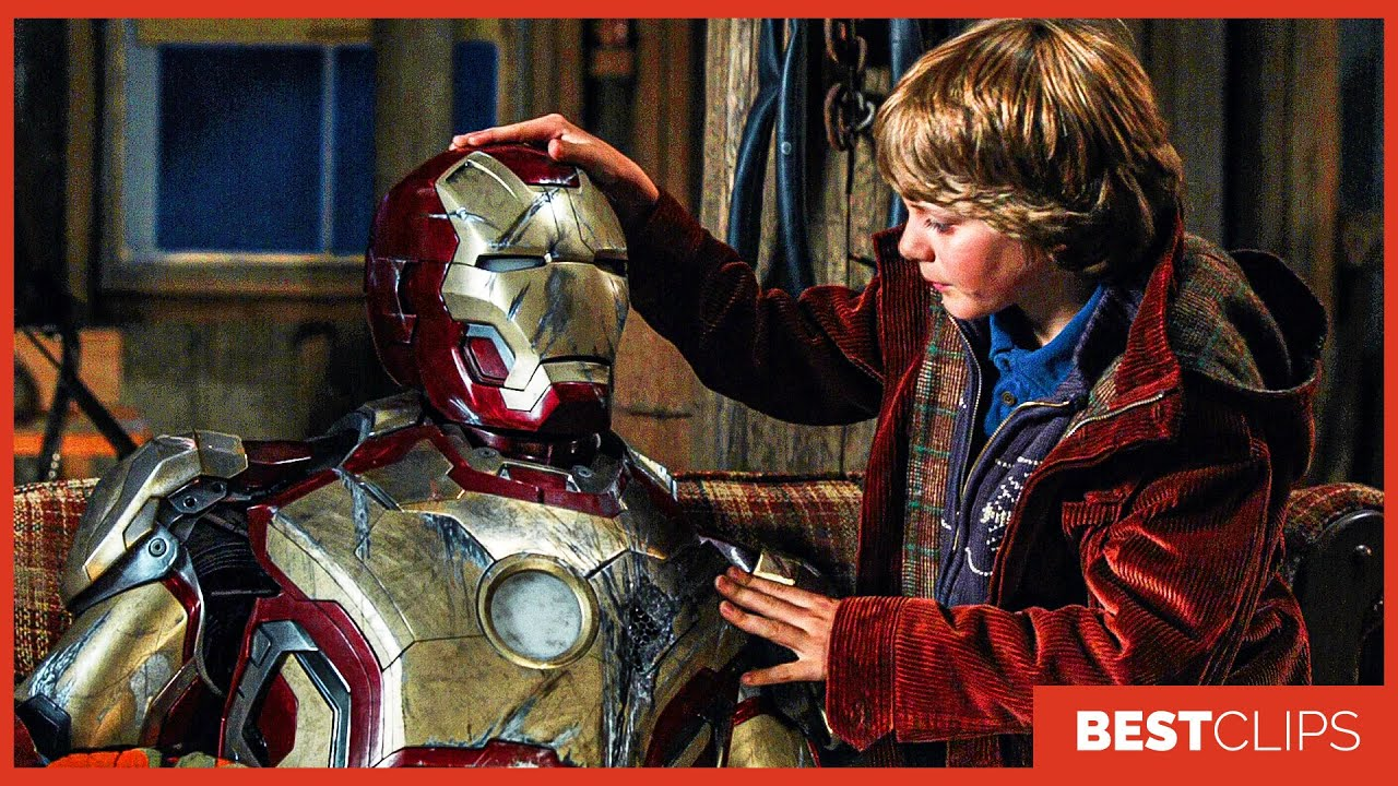 Tony Stark Meets Harley Scene | Iron Man 3 (2013) Movie CLIP 4K